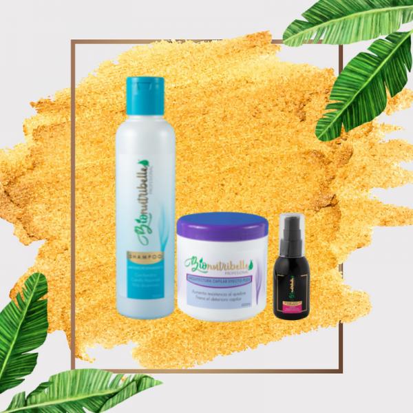 Shampoo + Máscara + Sérum